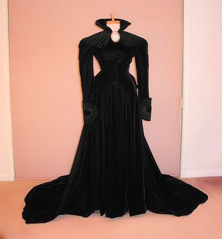 scarlett o'hara mourning gown