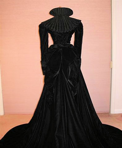 vivien leigh mourning gown